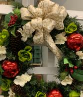 Custom silk wreath 18