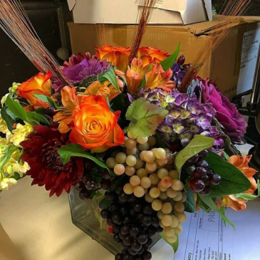 Custom Spectacular Design  Thanksgiving  Centerpiece