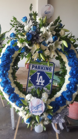 CUSTOM SPORT WREATH