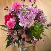 Custom Spring Arrangement Vase
