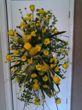 Custom Standing Spray Funeral Arrangement Standing Spray