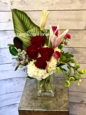 Custom Valentines Day Arrangements Valentines  in Palmyra, VA | Country Rose Florist