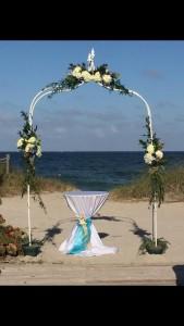 Custom Wedding Arch