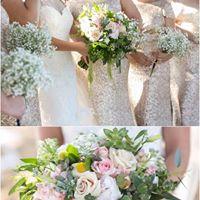 Custom Wedding Flowers bouquet in Hillsboro, TX | Ambar Tree Florist