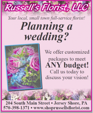 Custom Wedding Packages  in Jersey Shore, PA | Russell's Florist, LLC