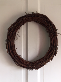 Custom Wicker Wreath Silk Arrangement