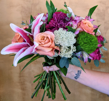 Custom Wrapped Bouquet In House Special