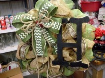 Custom Wreaths Available Burlap Wreaths