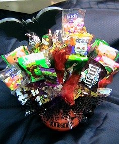 HALLOWEEN CANDY BOUQUET from The Rose Petal in Nampa, ID | THE ROSE PETAL FLORAL & GIFT SHOP