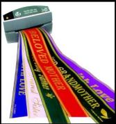 Custom Printed Ribbon Custom printed ribbon of your choice