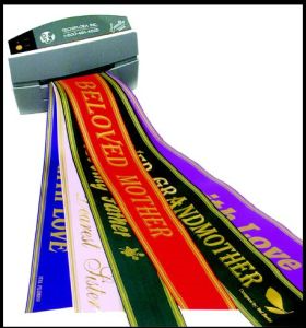 Custom Printed Ribbon Custom printed ribbon of your choice