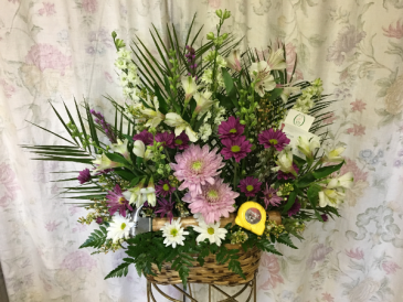 Customized Remembrance Basket