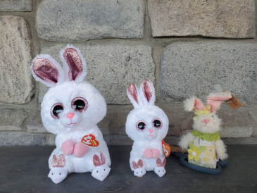 Cute Bunnies!! Stuffed animals