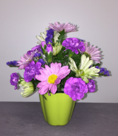 Cute Cup of Flowers Floral Arrangement