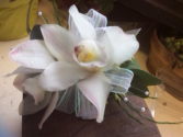 Cybidium Orchid Corsage Corsage