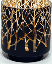 Cylinder Candleholder with trees
