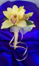 Exotic Orchids Corsage