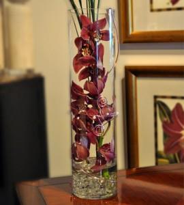 Cymbidium Cylinder Vase every day