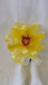 Cymbidium Orchid Corsage - Single