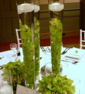 CYMBIDIUM ORCHID TALL CENTERPIECE