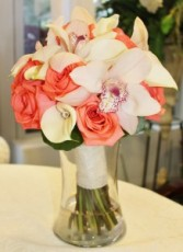 Cymbidium & Roses Bouquet