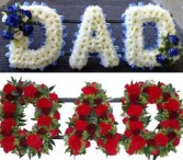 DAD-1-2 Casket Flowers