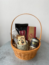 Dad Coffee Treat Basket