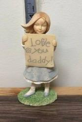 Dad & Daughter Figurines