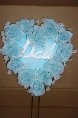 DAD HEART FATHERS DAY HEART $19.99