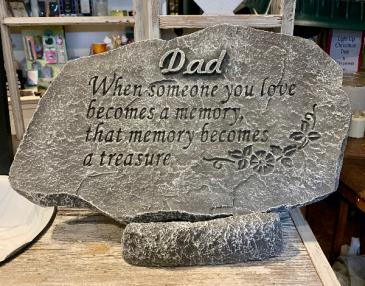 Dad Memorial Stone Memorial Stone