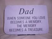 Dad Sympathy Stone Sympathy
