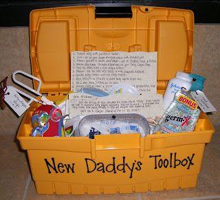 DADDY'S NEWBORN  GIFT BASKET