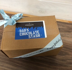 Dad's Chocolate Stash Newfoundland Chocolate Care Package in Clarenville, NL | SOMETHING SPECIAL GIFT & FLOWER SHOP