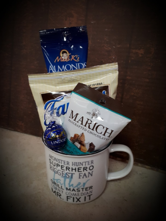 Dad's Mug of Love Gift Basket