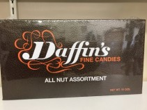 Daffin's All Nut Assortment Add on