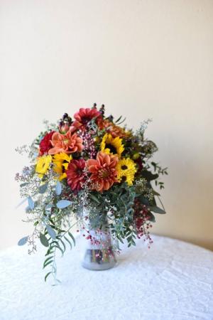 Dahlia Dreams Bridal Bouquet