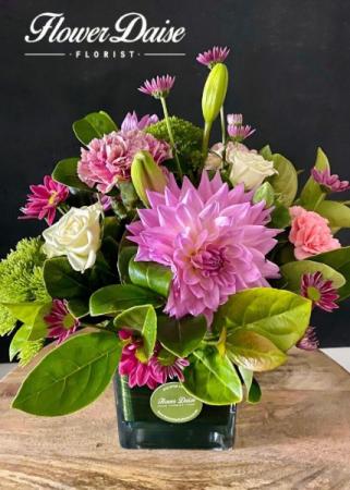 Dahlia Vase Arrangement