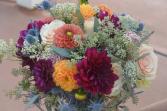 Dahlias in Love Bridal Bouquet
