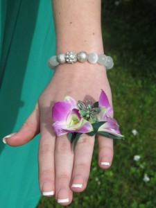 Dainty Floral Ring Corsage in North Adams, MA | MOUNT WILLIAMS GREENHOUSES INC