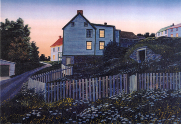 Daisies at dusk King's Cove Ed Roche Prints