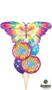 Daisies & Butterflies Birthday balloons