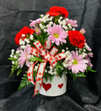 Daisies & Carnations Lovers Valentine's Day
