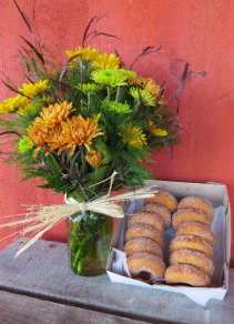 Daisies & Doughnuts for Fall