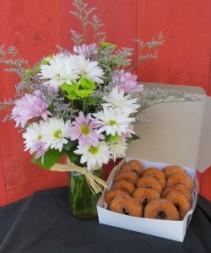 Daisies & Doughnuts I
