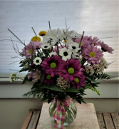 Daisies For You Vase