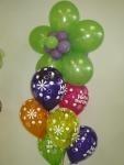DAISY BALLOON BOUQUET balloons