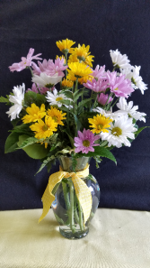 Daisy Crazy Vase