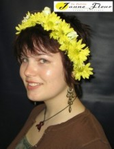 Wedding-Daisy Crown Custom Design. Please call for details and price