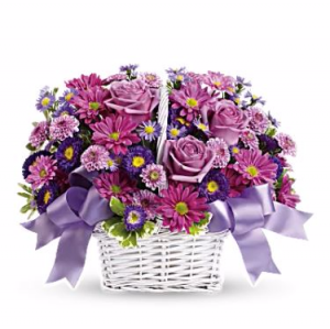 Daisy Dreams Basket Arrangement in San Bernardino, CA | INLAND BOUQUET FLORIST