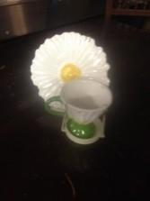 daisy teacup